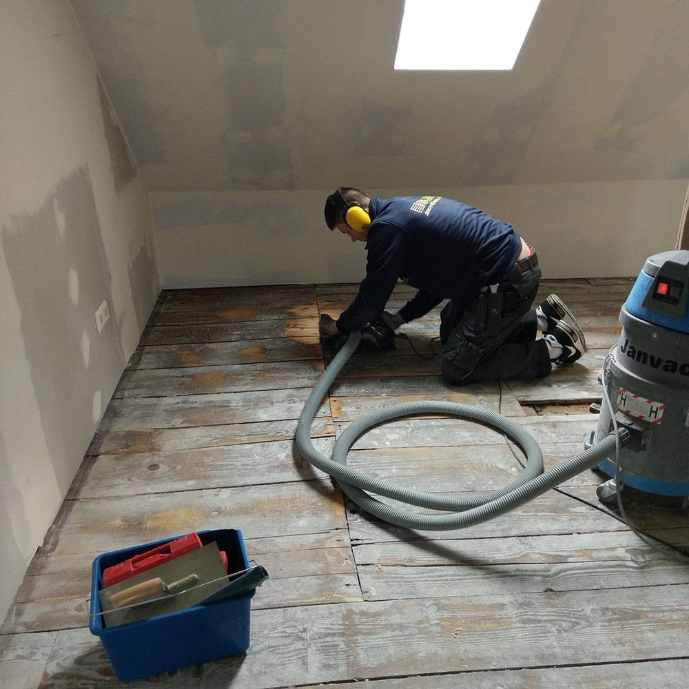 Holzboden Restaurierung